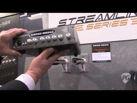 NAMM '11 - Genz Benz Streamliner Bass Series Amps & Uber Quad Bass Cabinets