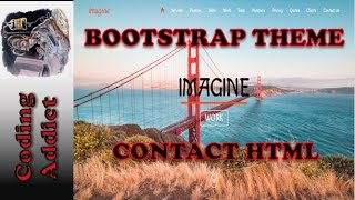 Bootstrap Theme 39 - Contact HTML