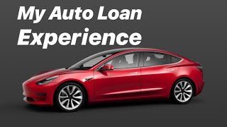 My experience in applying for an auto loan for Tesla Model 3