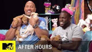 Adorable-Off: Kevin Hart vs. Dwayne 'The Rock' Johnson (Central Intelligence) | MTV After Hours