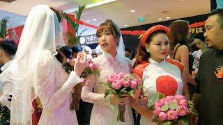Dàn sao Việt ăn diện lộng lẫy đến chúc mừng 'đám cưới' Ngọc Trinh, Diệu Nhi
