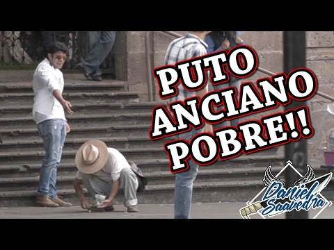 BULLYING A UN ANCIANO (EXPERIMENTO SOCIAL)