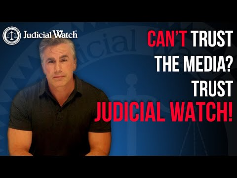 Unlike the Media & Congress, Judicial Watch Does the REAL Heavy Lifting on Anti-Corruption!