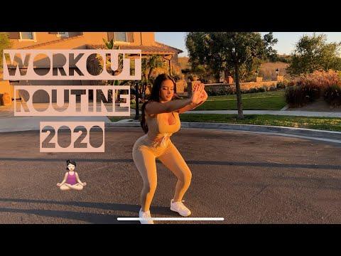 MY 2020 QUARANTINE WORKOUT ROUTINE