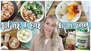 WHAT I EAT in a DAY || Work From Home MOM of 4