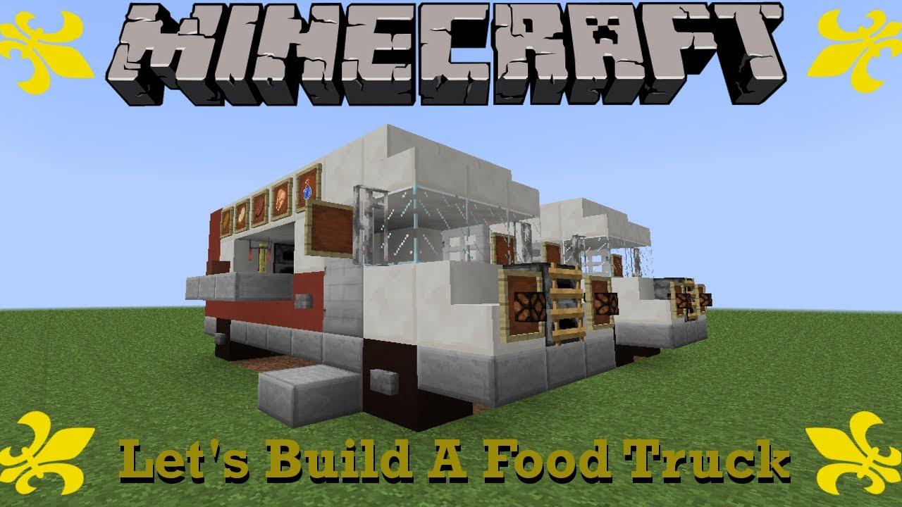 Food Truck In Minecraft