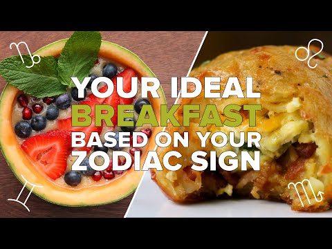 Your Ideal Breakfast Based on Zodiac Sign