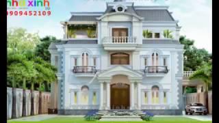 Mẫu Biệt Thự Cổ Điển Đẹp Sang Trọng - Tiền Giang - Nhà Xinh