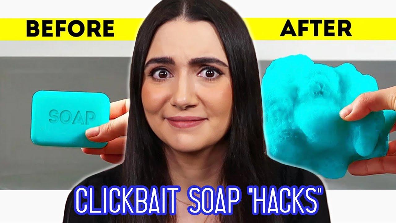 I Tested Clickbait Soap Art