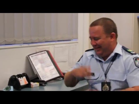 Words with the boss: Senior Sergeant Paul Algie