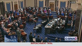 U.S. Senate Impeachment Trial of Former President Trump: Swearing in Senators