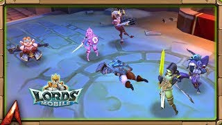 New Hero Cursed Hunter First Look in Colosseum! Lords Mobile