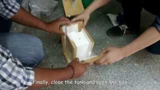 How to make dry ice - lab equipment - Dry ice