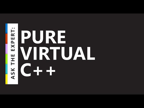 Ask the Expert: Pure Virtual C++