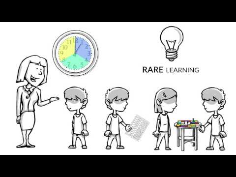 RARE Learning: A Method to Pre-K