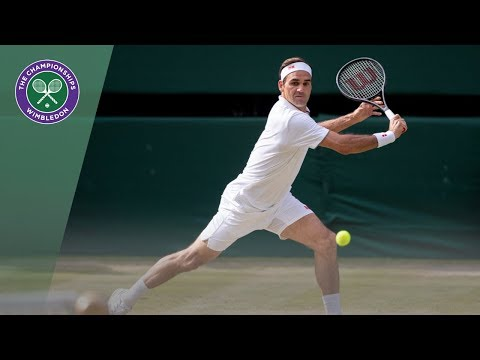 HSBC Play of the Day - Roger Federer | Wimbledon 2019
