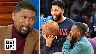 Anthony Davis playing vs. LeBron, Lakers is a mockery – Jalen Rose | Get Up!
