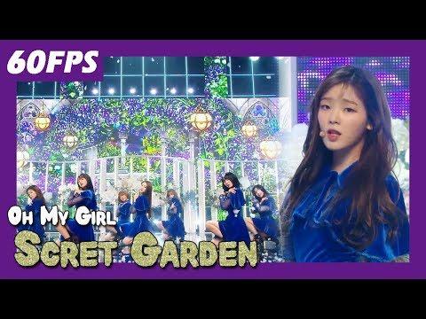 60FPS 1080P | OH MY GIRL - Scret Garden, 오마이걸 - 비밀정원  Show Music Core 20180113