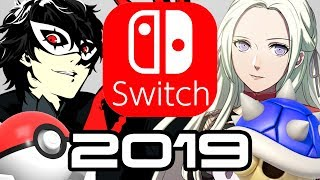 Nintendo Switch in 2019 - Smash DLC, Fire Emblem, Pokemon and Mario Kart Reveal?