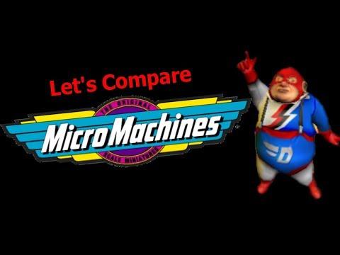 Let's Compare ( Micro Machines )