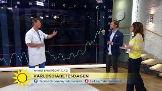Det är symptomen på diabetes - Nyhetsmorgon (TV4)