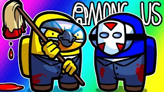 Among Us Funny Moments - Cleaning Up The Evidence! (Janitor's Mod)