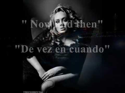 Adele - Now and then (Sub. Español/Inglés)