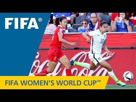 HIGHLIGHTS: China PR v. USA - FIFA Women's World Cup 2015