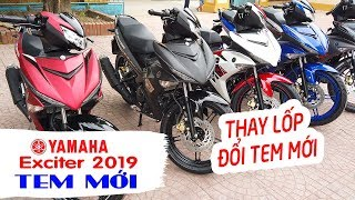 Yamaha Exciter 150 2019 ▶ THAY ĐỔI MÀU SẮC QUYẾT ĐẤU Honda Winner X