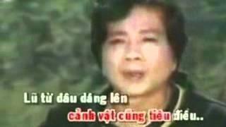 KARAOKE CHIEU NUOC LU  Hat Voi  ( MyHang )