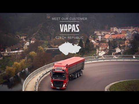 Volvo Trucks - How to get fuel consumption down low ? Meet our customer: Vapas