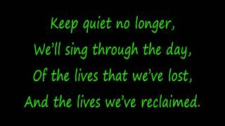 Rise Against - Prayer Of The Refugee (Lyrics) HD