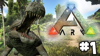 ARK: Survival Evolved - Mysterious Island - Part 1