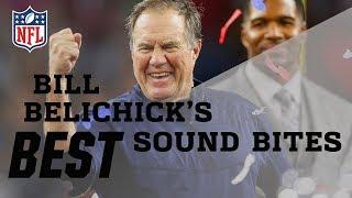 Bill Belichick's Best Sound Bites | NFL