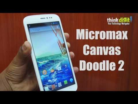 Micromax Canvas Doodle 2 A240 Review