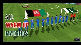 Team Afghanistan - All Warm Up match Cricket World Cup 2019 - WCC2 Expert Mode World Championship