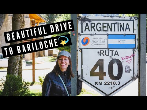 TRAVEL TO BARILOCHE! | The Best of ROUTE 40 from San Martín de los Andes to Bariloche (by Bus!) 🚌