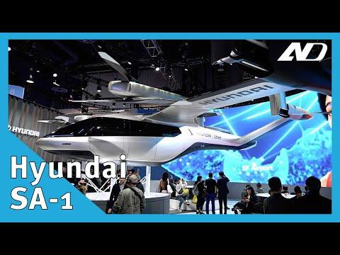 Ahora Hyundai hará drones para Uber, SA-1 - #CES2020