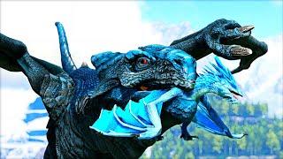 NOVO: Ice Wyvern! Caçando Para o Meu Filhote Gelado! Day of Dragons?! Ark Dinossauros!