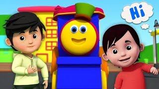 bob le train | chanson de voeux | Bob The Train Greeting Song | Learning Street with Bob