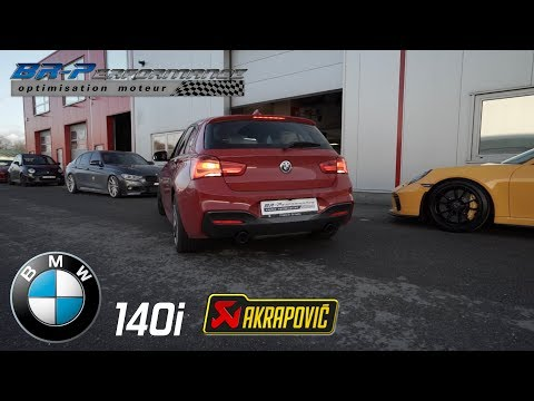 BMW F2X LCI M140i Akrapovic Exhaust System evolution line By BR-Performance