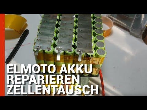 ELMOTO Akku reparieren - Elmoto LIPO Akku Zellentausch auf 18650 - eBikeundSo