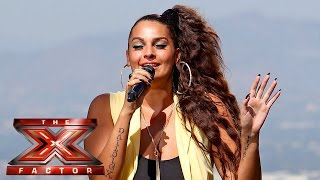 Monica Michael performs My Angel for late brother | Judges Houses | The X Factor 2015