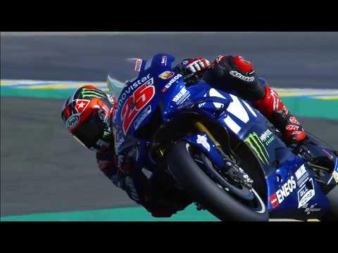 Movistar Yamaha discuss the French GP