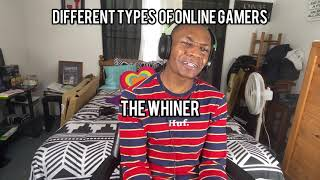 Different types of Online Gamers