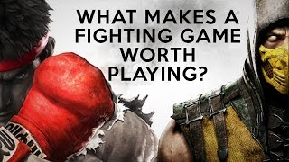Analysis: What Makes A Fighting Game Worth Playing? (한글자막 있음)