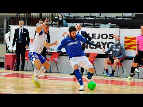 Fútbol Emotion Zaragoza - Real Betis Futsal Jornada 4 Temp 2020-21