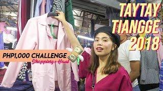 Taytay Tiangge 2018 (Octagon Schedule, Tour, Haul) | Arnie Villanueva