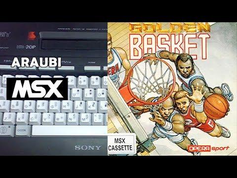 Golden Basket (Opera Soft, 1990) MSX [490] Walkthrough Comentado