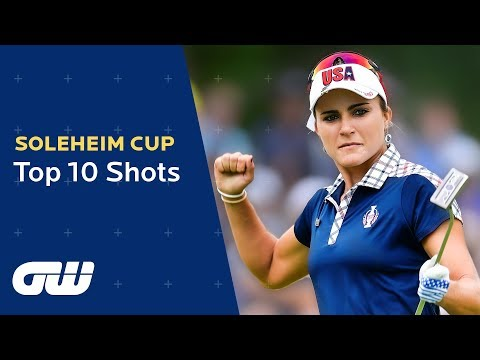 Top 10 Shots From the Last Solheim Cup! | Golfing World